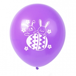 Globo de Conejito de Color Puro Decoraciones de Pascua