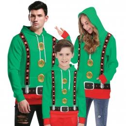 Disfraces de Navidad Ropa de Botones de Halloween Familiares