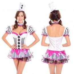 Disfraces Mago de Sombrero Loco Sexy Vestido de Halloween