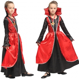 Disfraz de Vampiro para Niñas Princesa Elegante