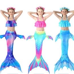 Disfraces de Sirena Traje de Baño de Halloween para Niñas