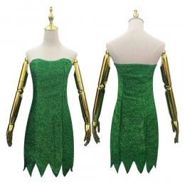 Disfraces de Elfos de Tinkerbell Vestir Halloween para Mujer