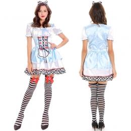 Disfraces Corazón de Corazones Vestido de Halloween para Mujer