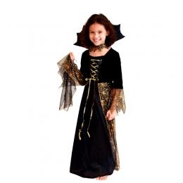 Vestido de Princesa Araña Disfraz de Bruja para Niñas