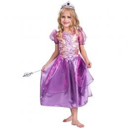 Disfraces de Disney Vestido de Princesa Púrpura Brillante de Halloween