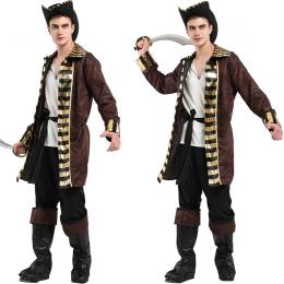 Disfraz de Capitán Garfio Rey Adulto