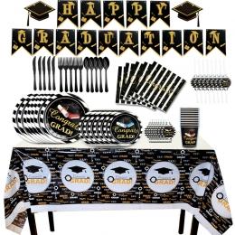 Equipo de Vajilla para Decoraciones de Graduación
