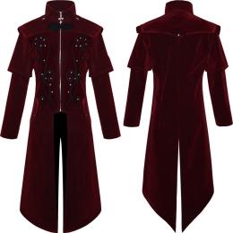 Disfraces de Bruja Gótica Abrigo Halloween para Adultos