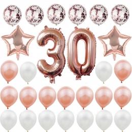 Número Conjunto de Globos con Lentejuelas Globos de Cumpleaños