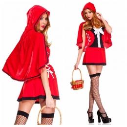Disfraces de Halloween Traje de Caperucita Roja
