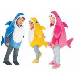 Disfraces Lindo  de Tiburón Bebé  Tres Colores  Opcional de la Familia para Infantil