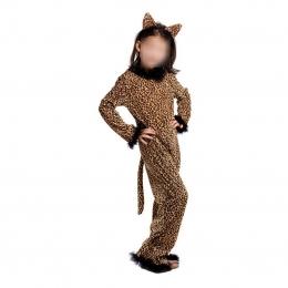 Disfraz de Gato Niña Animal Guepardo
