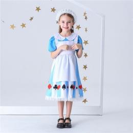 Disfraces Vestido de Princesa Alicia para Niñas de Halloween