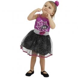 Disfraces Vestido de Araña de Halloween para Niñas
