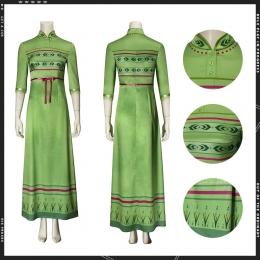 Disfraces de Frozen 2 Anna Green Dress Cosplay - Personalizado