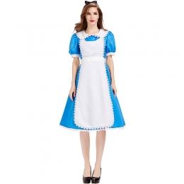 Disfraz de Alicia en el País de las Maravillas Tea Party Azul para Mujer