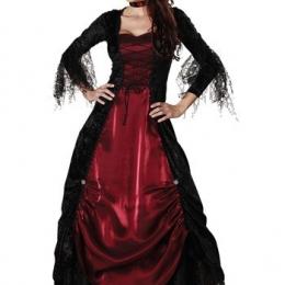 Disfraces de Halloween Vestido de Vampiro de Encaje