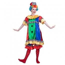 Disfraces de Payaso Colorido Hermoso Traje Halloween