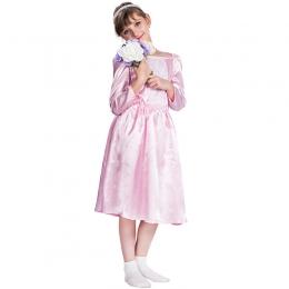 Disfraces de Novia Vestido Rosa de Halloween para Niñas