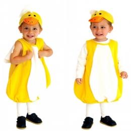 Pequeño Pato Amarillo Disfraces de Animales para Niños