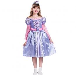 Disfraces de Victoriano Morado Vestido Halloween para Niñas