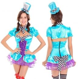 Disfraces Circo Alice Magician de Halloween para Mujer