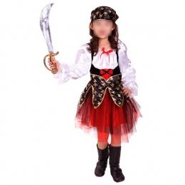Vestido Hermoso Disfraz de Pirata para Niñas