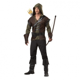 Disfraces de Robin Hood Flecha Verde Traje Halloween para Hombre