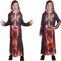 Disfraz de Esqueleto para Niños Bata de Llama