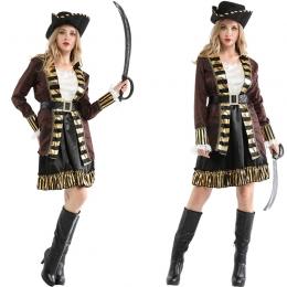 Disfraz de Capitán Garfio Vestido Elegante para Mujer