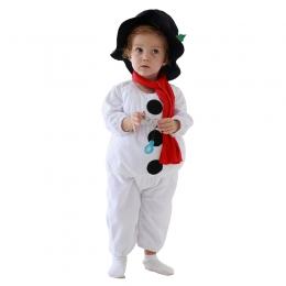 Disfraces Mono de Muñeco de Nieve Halloween Bebé Niño
