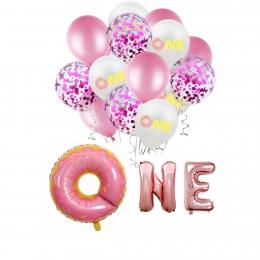 Donuts Combinación Cumpleaños Globos