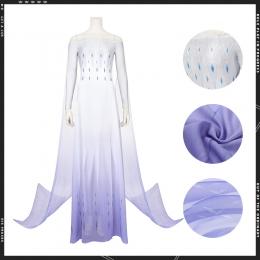 Disfraces de Frozen 2 Elsa Falda de Hilo Cosplay - Personalizado