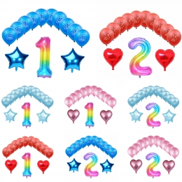 Cumpleaños Decoración Globo para Bebés de 1 a 2 Años