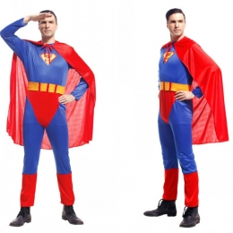 Medias de Disfraces de Superhombre para Hombre