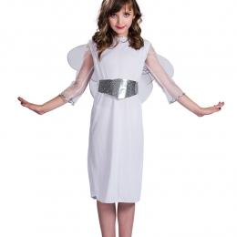 Disfraces de Ángel Vestido de Hada Blanco Halloween
