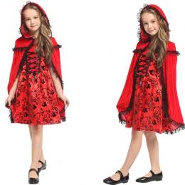 Disfraces de Caperucita Roja Patrón Negro