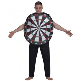 Disfraces de Tablero de Dardos Forma de Halloween para Hombres