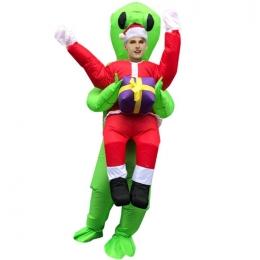 Disfraz de Extraterrestre Inflable Papá Noel