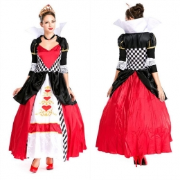 Disfraces de Disney Reina Vestido de Naipes