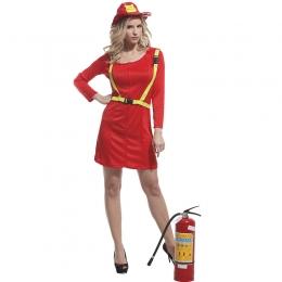 Disfraz Militar de Halloween Bomberos Femeninos