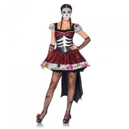 Disfraces Novia Fantasma de Halloween Vestido de Mujeres Aterradoras
